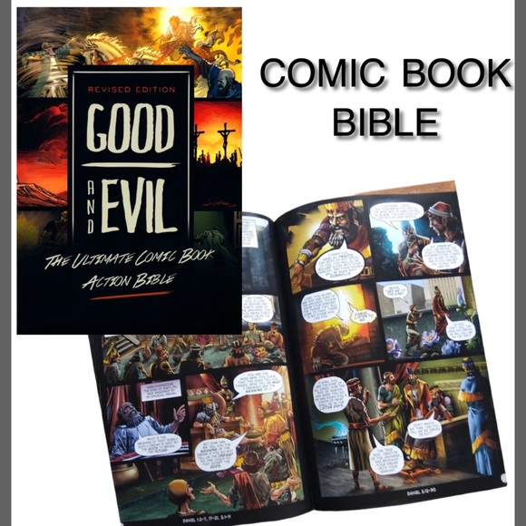 GOOD & EVIL COMIC BOOK BIBLE